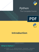 Python the Complete Course for Beginners by TELCOMA