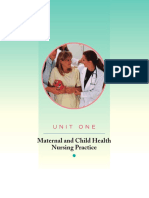 Maternal and child nursing