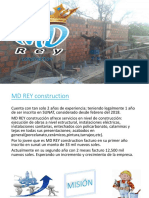 Md Rey Construccion Diapositiva