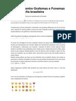 6a Relacao Grafemas Fonemas