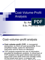 Cost Volume Profitanalysis 140417064627 Phpapp02