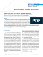 Pretreatment in Reverse Osmosis Seawater Desalination