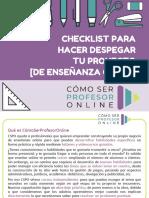 Checklist Despegar Proyecto Online
