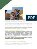 Ensec3b1ar a Compartir a Los Pequec3b1os
