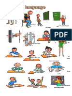 Classroom Language Picture Dictionaries 73034