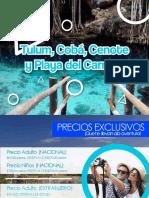 Tulum, Coba, Cenote, Playa Del Carmen2