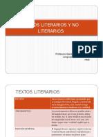 NM3 Textos Literarios y No Literarios