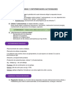 Enfermedades Autoinmunes - Inmunología. Gianella Alfaro