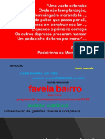 Favela Bairro 25 Anos