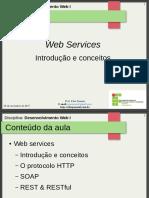 24.Aula 17 - Web Services - Introdução e Conceitos