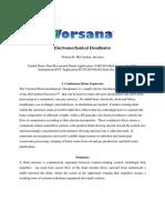 Electromechanical Desalinator