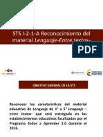 PPT-Reconozcamos El Material Educativo -Entre Textos- Final (2)