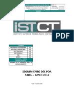 Informe AuditORIAS Abril - Junio