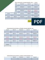 formato CRONOGRAMA  EVALUACIONES  2° SEMESTRE 2019
