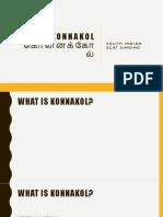 Konnakol