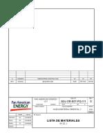Gsj or e07 Pq 111 0 Lista de Materiales Skid j