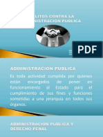 Delitos Contra La Administración Publica Peculado y Cohecho