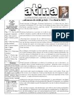 Datina - 06.08.2019 - prima pagină