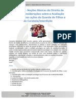 Laudos Cap 3 - Noções Básicas Do Direito de Família