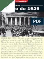A Crise de 1929 - Bernard Gazier (L&PM Pocket, 2003)