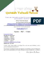 Parashat Va Yetze # 7 Adul 6011
