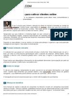 4 dicas essenciais para cativar clientes online - PME
