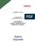 Llanos Alfredo - La Filosofia de Heraclito