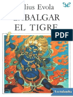 Cabalgar El Tigre - Julius Evola