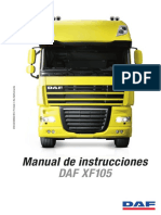 Manual Instrucciones Daf Xf105