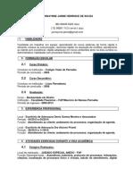 Curriculum Vitae - Janne - Direito