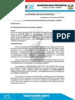 ACUERDOS DE CONCEJO N°007-2019