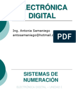 Ed - u1 Sistemas de Numeracion