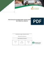 Eg14.3 Monitoreo de Calidad y Cantidad de Agua en Forestal Arauco 09.2017