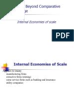 Trade Under Internal Economies of Scale
