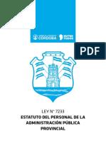 LEY-N°-7233-ESTATUTO-DEL-PERSONAL-DE-LA-ADMINISTRACIÓN-PÚBLICA-PROVINCIAL