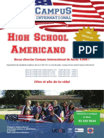 High School 2019 20 Becas Campus International