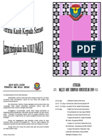 Buku Program Hari Koko 2009