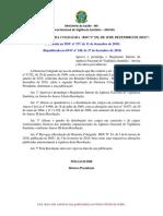 Resolução de Diretoria Colegiada - Rdc Nº 255, De 10 de Dezembro de 2018