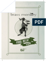 Brass Monkey Full Menu