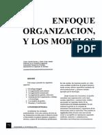 Organización y modelos