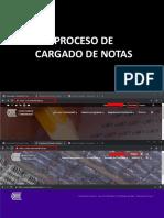 Cargado de Notas 201910 - Inducción