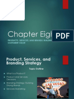Ch 08 Products Services and Brands Building Customer Value