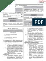 Ley Que Regula El Plastico de Un Solo Uso y Los Recipientes Ley n 30884 1724734 1 Convertido