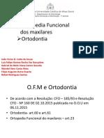 Trabalho Ortodontia e OFC