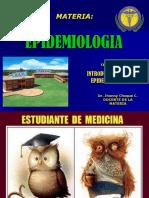 Introducion a la epidemiologia