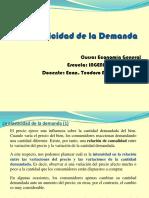Clase Elasticidad- Demanda 21 Julio 2014