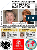 Marcia Wharton Arrest Warrant