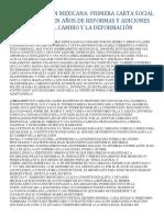 La Constitución Mexicana 100 Años