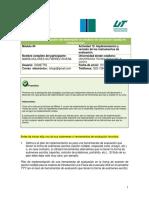 13. CALIFICACIÓN Act 13 Implementación y Revision de Instrumentos de Evaluacion
