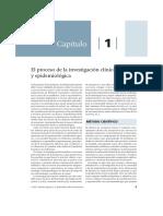 Lectura 1. El Proceso de La Investigación Clínica y Epidemiológica